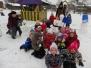 Rotaļas sniegā 8.decembrī