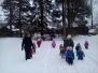 Rotaļas sniegā